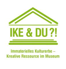 """Logo zur Tagung """"Ike & Du?!Immaterielles Kulturerbe – Kreative Ressource im Museum"""""""