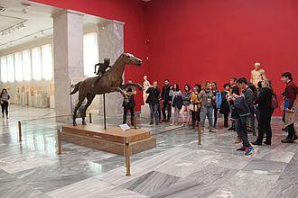 Bronze Statue ca. 140 BC © HTW Berlin / Tobias Nettke