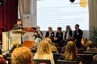 VieLBar Projekt Tagung HTW ASH Jugend Museum Diskussion
