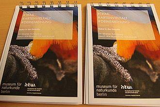 """Prototyp eines Trails zum Thema """"Natur in der Debatte"""", den Studierende für das Museum für Naturkunde entwickelten. © HTW Berlin / Tobias Nettke"""