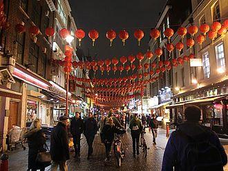 Der Abschlussabend in Soho/Chinatown während des chinesischen Neujahrsfests © HTW Berlin / Tobias Nettke