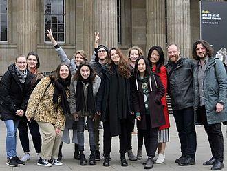 Grupppenfoto vor dem British Museum © HTW Berlin / Marco Ruhlig