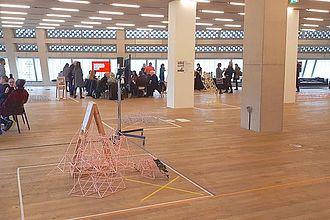Besuch in der Tate Exchange (Tate Modern) und Gespräch über das Management der Tate Exchange. © HTW Berlin / Tobias Nettke