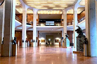 Foyer der Ungarischen Nationalgalerie. © HTW Berlin / Dan Chen