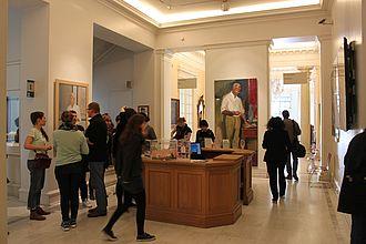 Foyer des Benaki Museums © HTW Berlin / Tobias Nettke