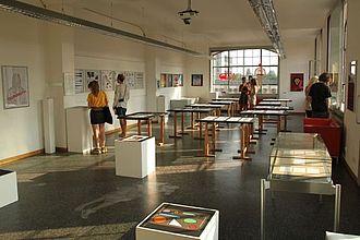 Eindrücke einer Präsentation des Studiengangs Kommunikationsdesign. © HTW Berlin / Tobias Nettke