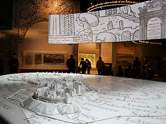 Dauerausstellung im POLIN, Museum der Geschichte der polnischen Juden © HTW Berlin / Lina Frubrich