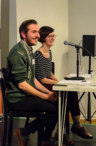 VieLBar Projekt Tagung V&A Zorian Clayton & Dawn Hoskin