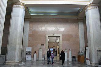 Foyer des Museums © HTW Berlin / Tobias Nettke