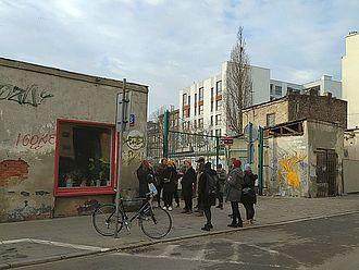 Stadtführung © HTW Berlin / Theresa-Sophie Herget