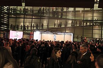 Eröffnungsevent im Neuen Benaki Museum © HTW Berlin / Tobias Nettke