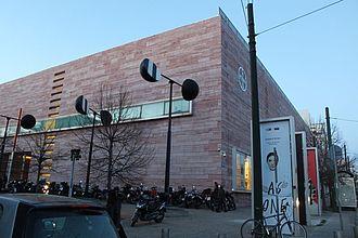 Das Gebäude des Neuen Benaki Museums in der Pireos Straße © HTW Berlin / Tobias Nettke