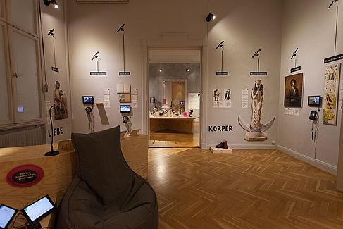 2018/2019 Welcome to diversCITY! - die Ausstellung im Jugend Museum Schöneberg vor der Eröffnung. © HTW Berlin / Marco Ruhlig