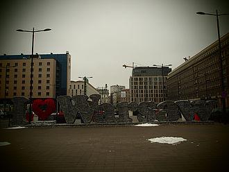 Häuser in Warschau © HTW Berlin / Elsa Czarnowski
