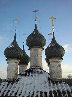 Exkursion 2013: Türme der Museumskirche Nerechta