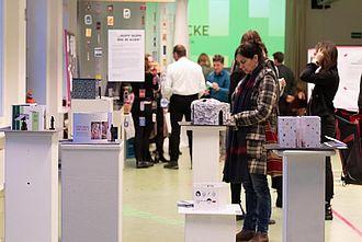 Modelle von Ausstellungsideen.  © HTW Berlin / Marco Ruhlig