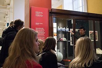 Spezialführung zum Thema Interpretation im British Museum. © HTW Berlin / Johannes Berger