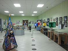 Exkursion 2013: Sonderausstellung zu historischen Spiele der Museen Kostroma © HTW Berlin / Tobias Nettke