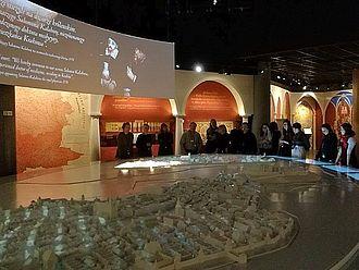 Besuch im POLIN, Museum der Geschichte der polnischen Juden. © HTW Berlin / Oliver Rump