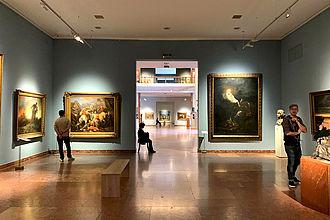 Besuch der Ungarischen Nationalgalerie. © HTW Berlin / Dan Chen
