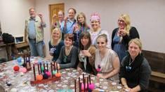 Exkursion 2012: Museumspädagogische Aktivitäten der deutschen Gruppe im privaten Flachs- und Birkenbastmuseum