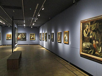 Gemäldegalerie im Nationalmuseum © HTW Berlin / Tobias Nettke