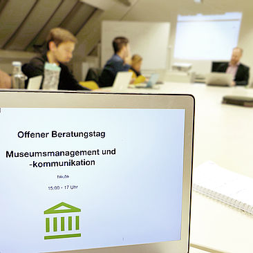 Mitteilung zum Offenen Beratungstag © HTW Berlin / Max Braun