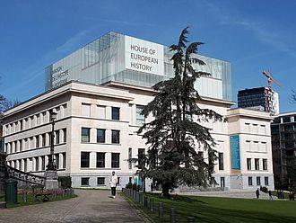 Besuch im Haus der Europäischen Geschichte © HTW Berlin / Tobias Nettke
