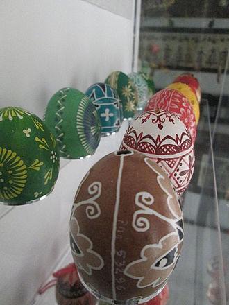 Traditionell bemalte Ostereier im Ethnografischen Museum © Tobias Nettke